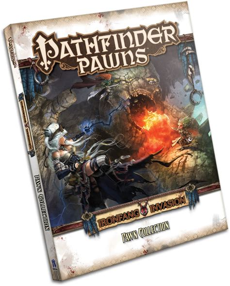 starfinder pawns archive pawn box books paizo pathfinder pawns ironfang pawn