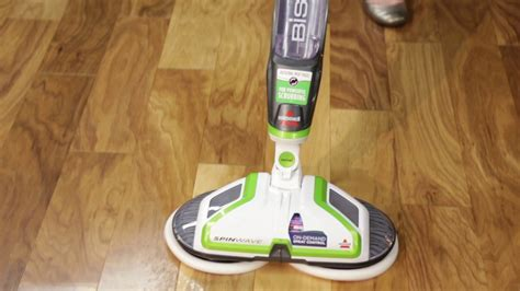 How to use the SpinWave? Hard Floor Cleaner   BISSELL