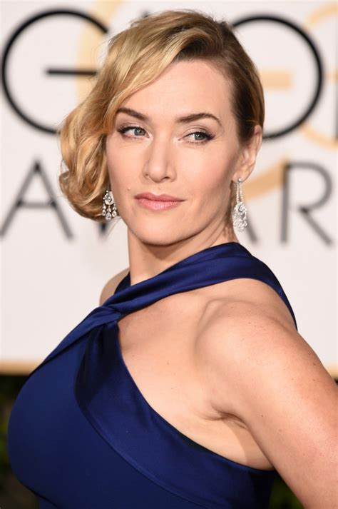 Kate Winslets by Kate Winslet In Ralph 2016 Golden Globe Awards
