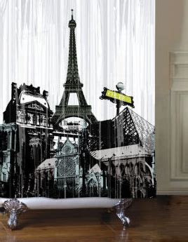french themed shower curtain paris themed bathroom set here are some other cool paris