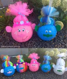 Kid Valentine Craft Ideas - troll pumpkins