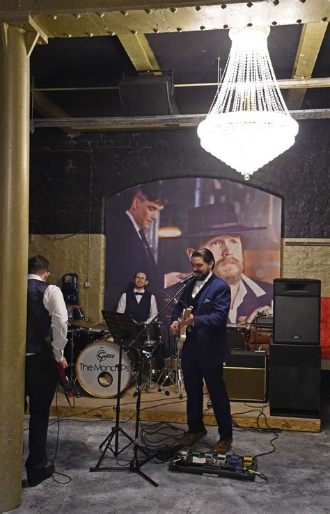 theme music to peaky blinders the opening of the peaky blinders theme bar in liverpool