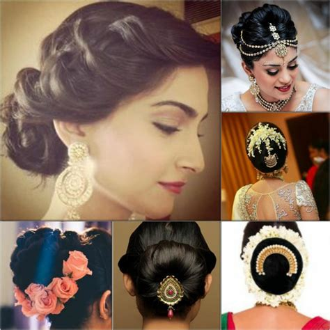 Indian Wedding Hairstyles For Hair by Indian Wedding Hairstyles For Mid To Hair