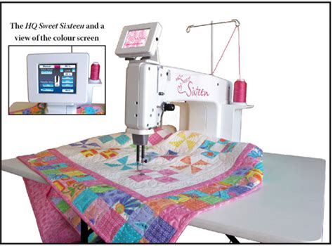 How To Quilt On A Home Sewing Machine by Handi Quilter Arm Sewing Machines In Europe