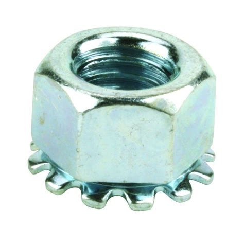 Locking Nut 1 everbilt 1 4 in 20 tpi coarse zinc plated steel wing nut 4 pack 802371 the home depot