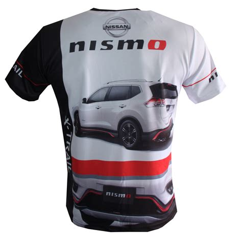 T Shirt Nissan X Trail nissan t shirt with logo and all printed picture t