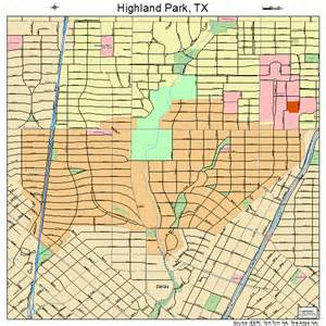 highland park map 4833824