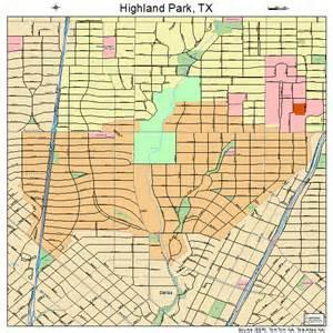 highland park map highland park map 4833824