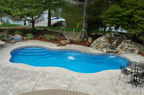 poolside designs beautiful inground pools bellisima