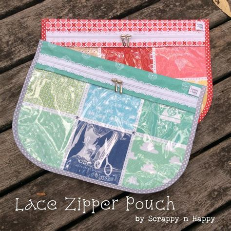 sewing pattern zipper case lace zipper pouch by jessica roze craftsy