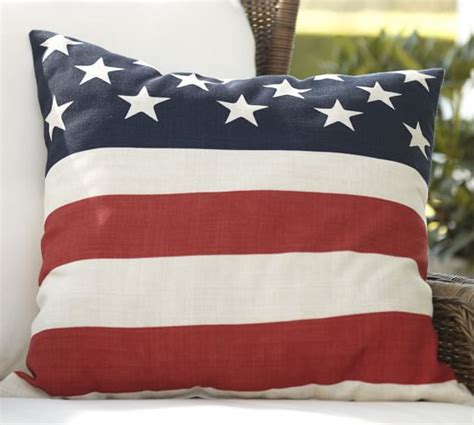 america pillow american flag pillow cover pottery barn