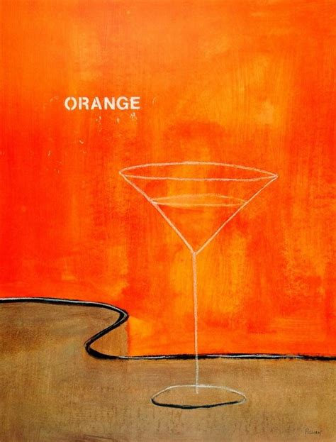 martini orange orange martini print buy at abposters com
