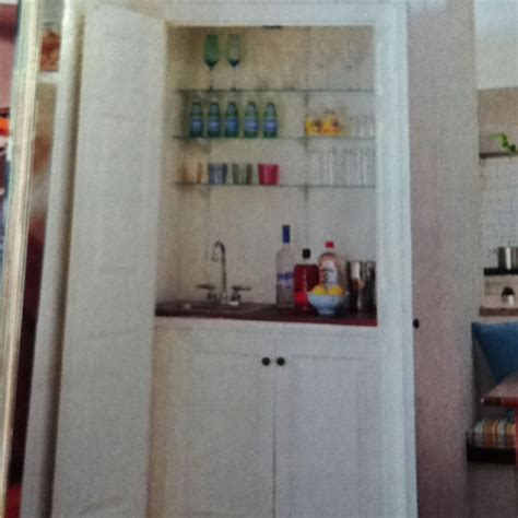 turning closet into bar turn a living room closet or kitchen storage closet into a