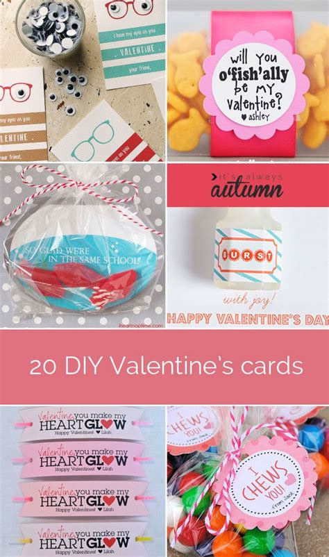 7 adorable diy for valentine s day eatwell101 35 adorable diy valentine s cards to print at home for