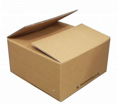 cardboard box single wall corrugated brown cartons box standard