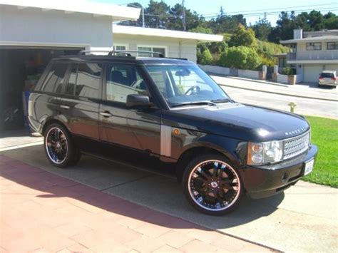 how to sell used cars 2005 land rover range rover user handbook super58177 2005 land rover range rover specs photos modification info at cardomain
