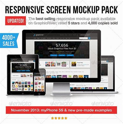 responsive design mockup pack designer resource 10 mockup for designer high quality