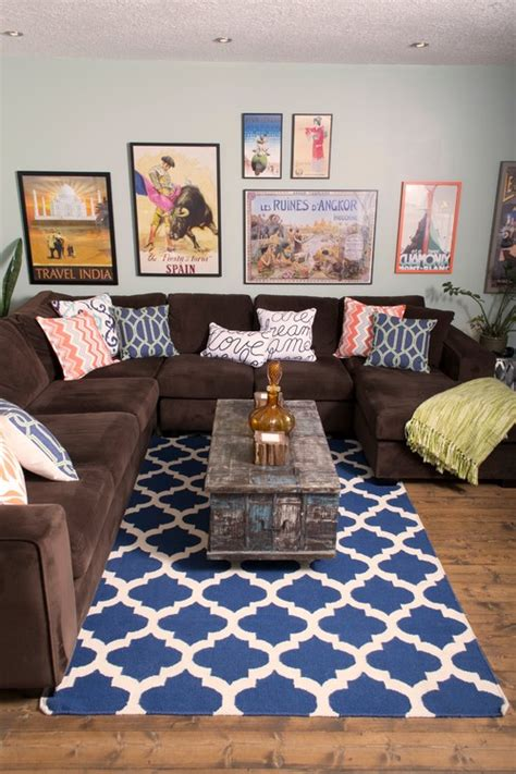 rugs to go with brown sofa armchair explorer decor letters from eurolux