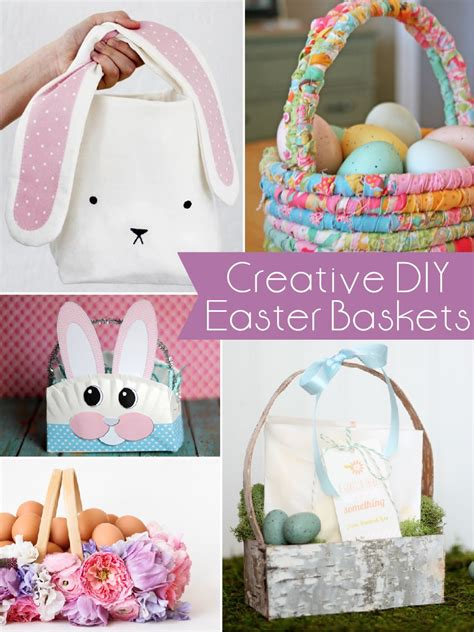 tipps kreatives basteln zu ostern must craft tips creative diy easter baskets