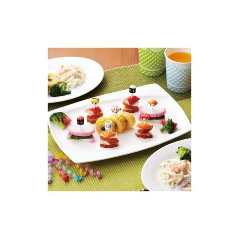 Torune S Assist Tea Cup Animal Picks japanese food sushi shapes for bento decoration for