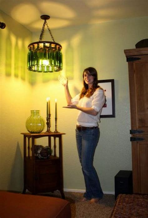 Cool Diy Chandelier Projects Bottle Chandelier Diy
