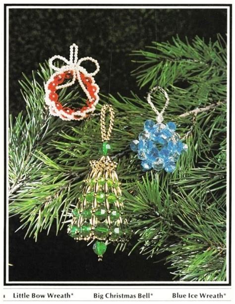 beaded fantasies book v christmas ornament patterns