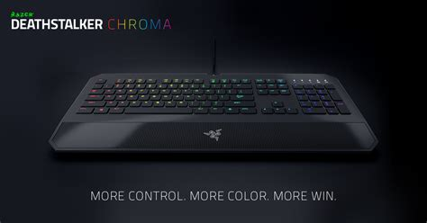 Keyboard Razer Deathstalker Ultimate T1 razer deathstalker chroma gaming keyboard backlit keyboard