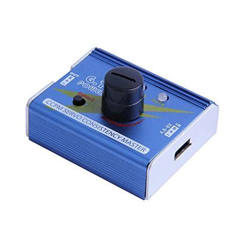 Servo Tester Gear Test Ccpm 3ch 4 8 6v With Indicator Light 10 best esc consistency sensors