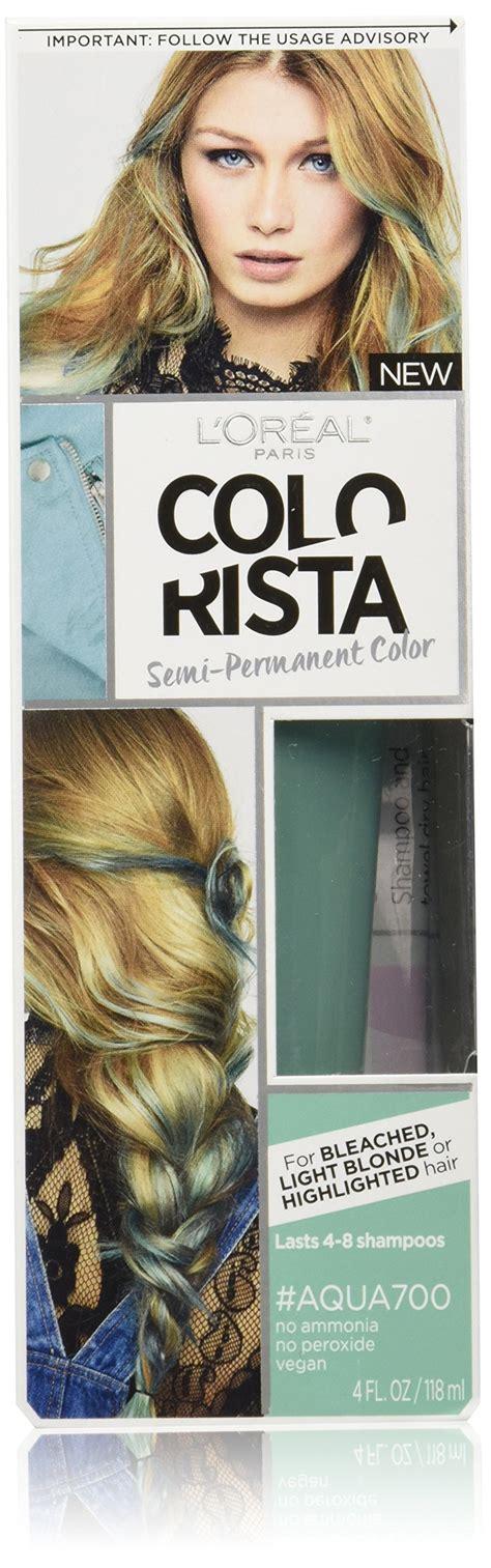 loreal semi permanent hair color l or 233 al colorista semi permanent hair