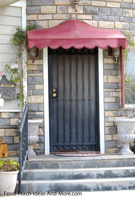awnings for front door porch awnings aluminum porch awning awnings for porch