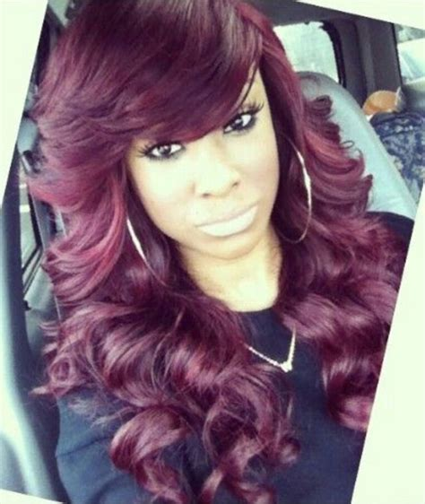 sew in long hairstyles with a swoop bang eda00628da3390d55a4ef358f527623e jpg 640 215 759 pixels hair