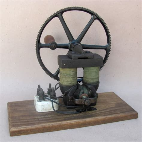 Dynamo Electric Motor by Www Antiqbuyer Past Sales Archive Antique Electric Motors