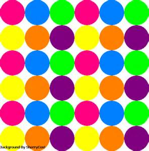 colorful polka dots all polka dot backgrounds images pics comments