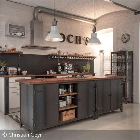 Küchen Im Retro Stil by K 252 Che K 252 Che Industrielook K 252 Che Industrielook At K 252 Ches