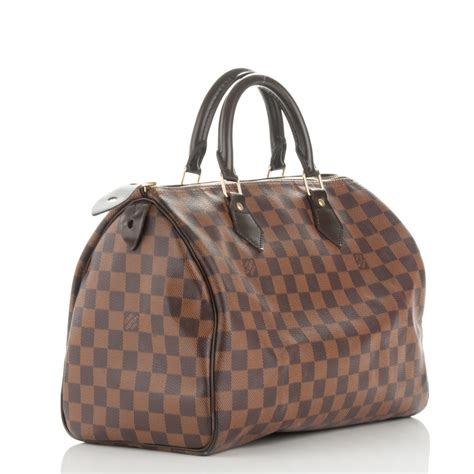Tara It Up With A Louis Vuitton Damier Azur Saleya Tote by Louis Vuitton Damier Ebene Speedy 30 178753