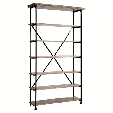 etagere metal biblioth 232 que am pm etag 232 re bois et m 233 tal koncept am pm