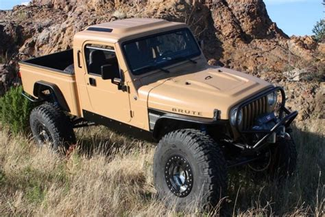 brute jeep conversion jeep wrangler pickup conversion 2001 jeep wrangler aev