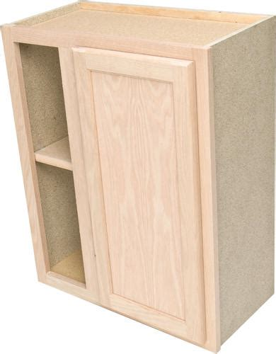 unfinished blind base cabinet quality one 24 quot x 30 quot unfinished oak reversible blind
