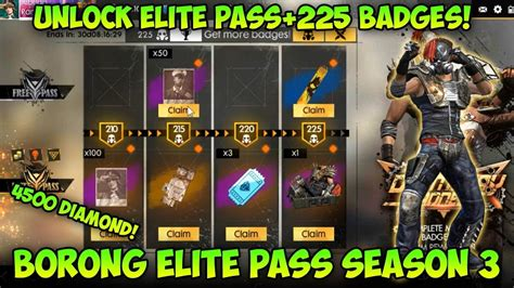 borong  elite pass season  review doomsday madness