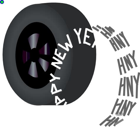 new year tyre promotion new year tire 2014 clip at clker vector clip