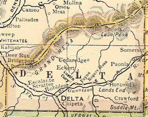 Delta County Records Delta County Colorado Genealogy Census Vital Records