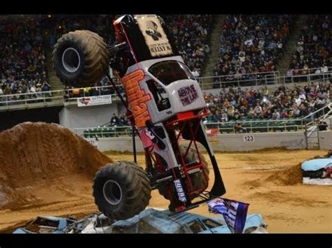 monster truck crash videos youtube outlaw monster truck crash youtube
