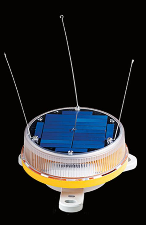 self contained solar powered strobe light self amer sabik marine