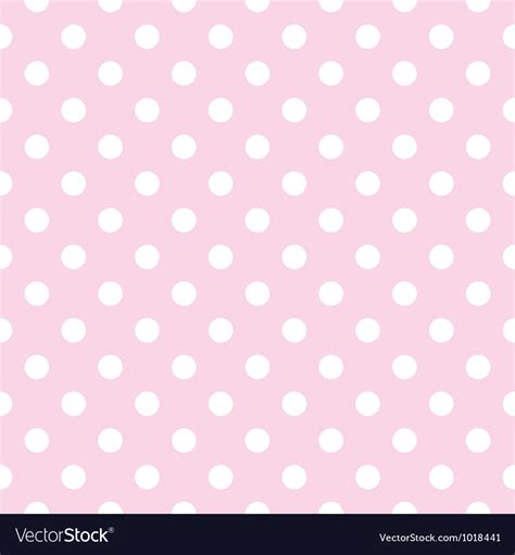 seamless dot pattern vector background stock vector seamless pattern polka dots on pink background vector image