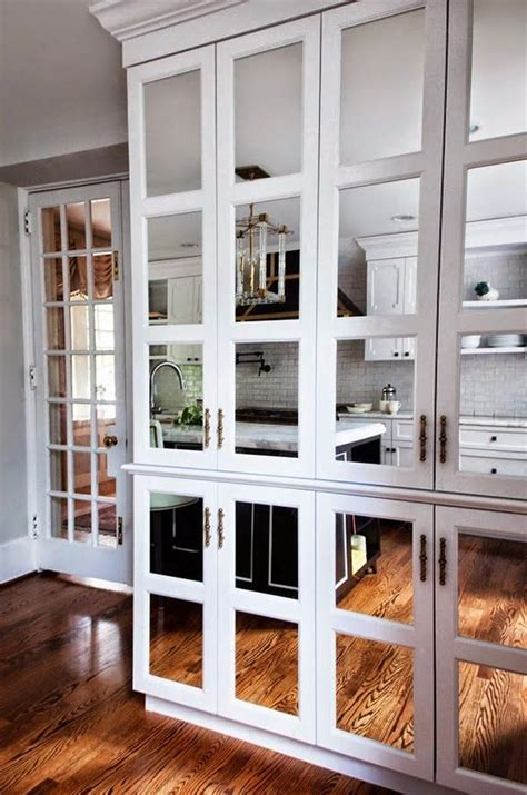 mirrored kitchen cabinets 1000 images about mirrored kitchen cabinet doors on