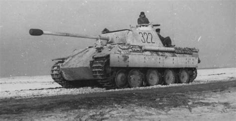 panther colors a german panther tank in quot winter colors quot war world war