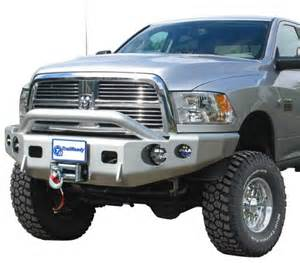 trail ready 11650p winch front bumper with prerunner guard