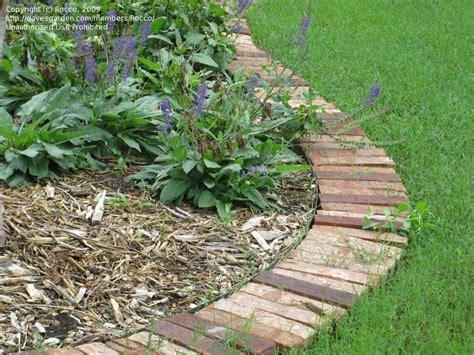 Brick Garden Edging Ideas Brick Edging For The Home Pinterest