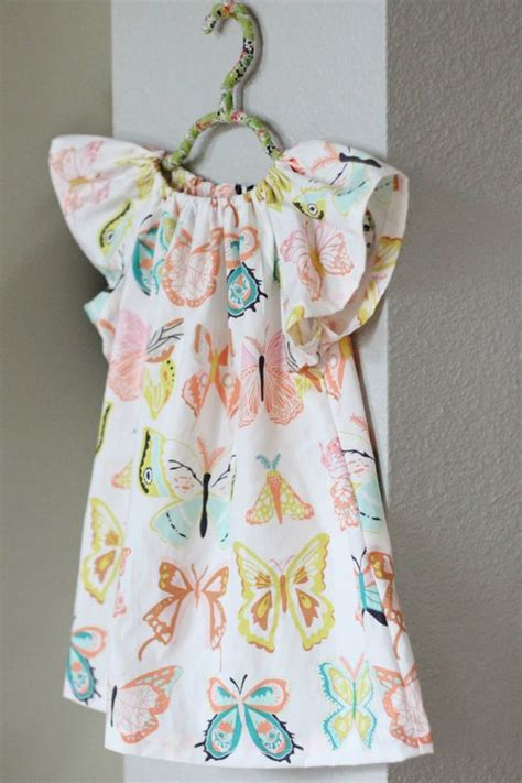 peasant dress pattern infant peasant dress with flutter sleeves pattern sew crazy