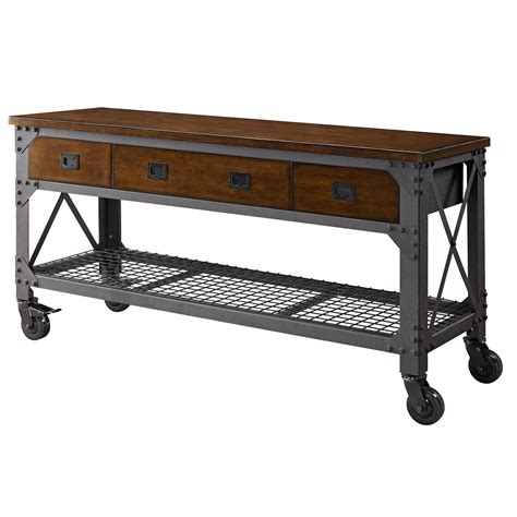 work bench furniture whalen 72 quot metal and wood workbench home furniture new ebay